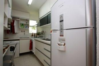 Foto da cozinha, apartamento decorado