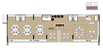 Mondial Office - Planta baixa - Planta Half Floor