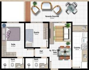 Planta Baixa - Apartamento Tipo - Coluna 04