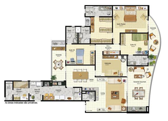 Planta baixa  Suíte master com closet e 02 banheiros – LRV Imóveis -> Planta Baixa De Banheiro Com Banheira E Closet