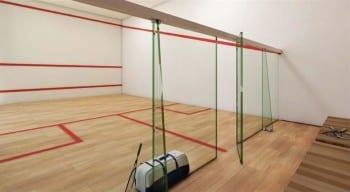 Perspectiva da Quadra de Squash da Mansão Bahiano de Tênis, 3 e 4 quartos na Graça