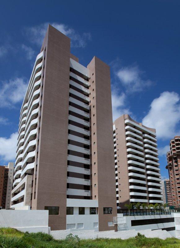 Fachada do Art Ville, localizado no bairro Alphaville, em Salvador.