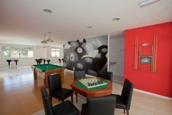 Foto salão de Jogos Adulto do empreendimento.