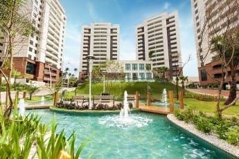 Praça Bem Viver do Parque Tropical