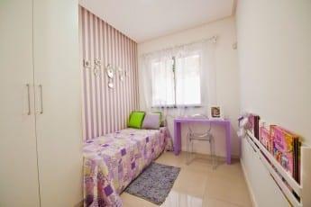 Foto decorado - Quarto do Residencial Madrid.