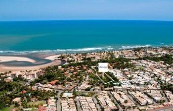 Foto aérea da Localização