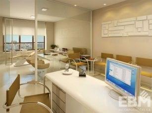 Perspectiva do consultório odontológico do Cosmopolitan Home Stay & Offices