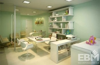 Perspectiva da sala médica do Cosmopolitan Home Stay & Offices