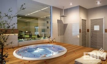 Perspectiva do spa do Cosmopolitan Home Stay & Offices