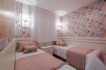 Foto do apartamento decorado - Quarto Solteiro
