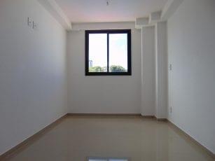 Foto da Suíte do apartamento tipo