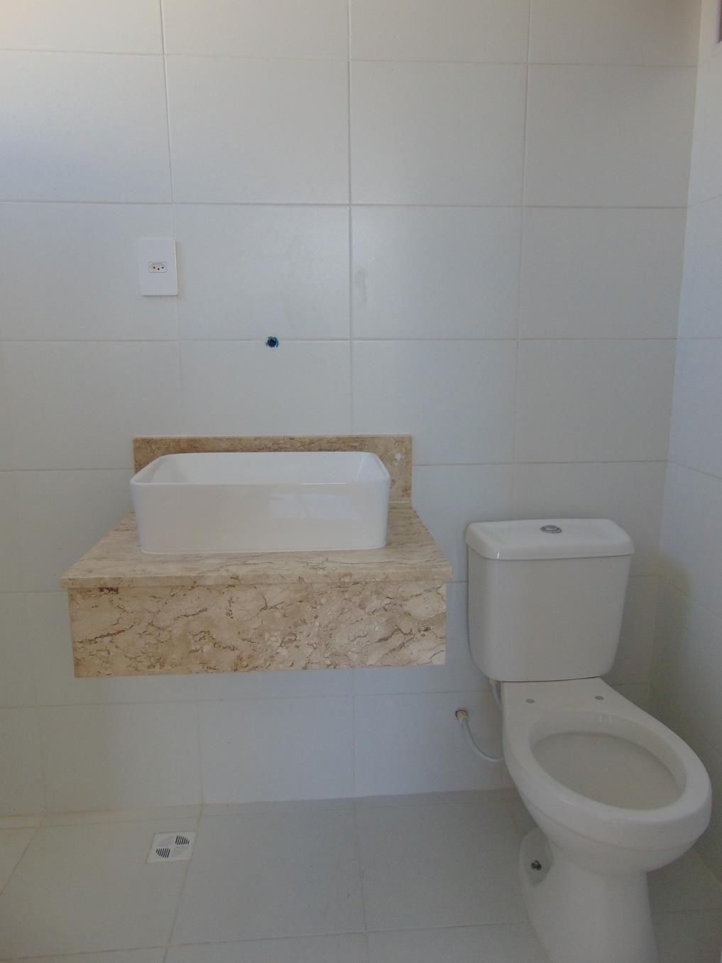 Apartamento – Foto do Banheiro da Suíte do Residencial Vista Bella