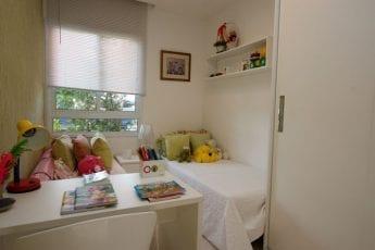 Foto do quarto, apartamento decorado