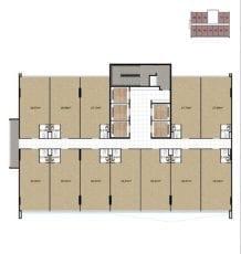 Mondial Office - Planta baixa - Pavimento tipo