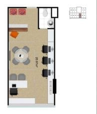 Mondial Office - Planta baixa - Single Padrão