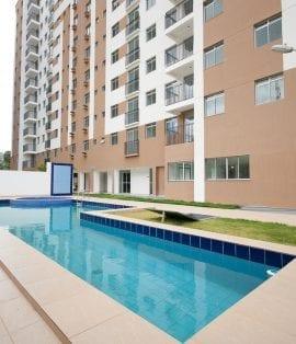 Foto da piscina do Ville Federação