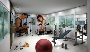 Perspectiva do Espaço Fitness
