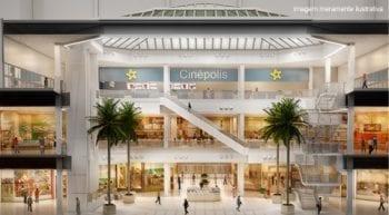 Perspectiva da cinepolis do Shopping Bela Vista