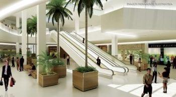 Perspectiva do térreo do Shopping Bela Vista