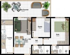 Planta Baixa - Apartamento Tipo - Coluna 05