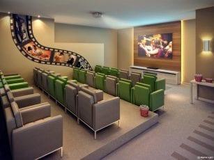 Torre Eldorado - Perspectiva do cinema do Greenville Ludco