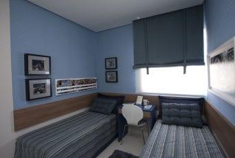 Foto do quarto de solteiro