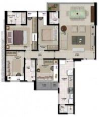Apartamento à venda em Salvador do empreendimento Giardino Loreto com 4 quartos em 102,61m2 de área privativa no bairro da Graça.