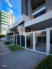 Acesso ao Edifício Residencial Amazon - Aquarius, localizado no bairro da Pituba, em Salvador.