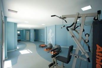 Espaço fitness do Città Lauro de Freitas, localizado na rua Prisco José de Souza, em Lauro de Freitas