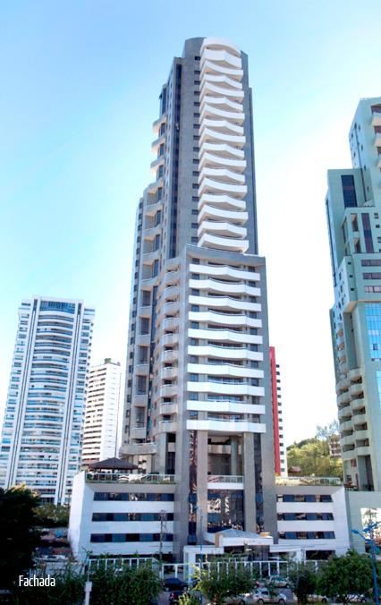 Edifício Residencial Amazon possui apartamentos de 2 suítes com 80,89 a 136,02m², 3 suítes com 123 a 230,69m² e loft duplex 62,94 a 117,37m², na Pituba.