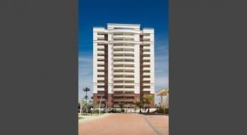 Foto da fachada da torre de 4 suites do Parque Tropical
