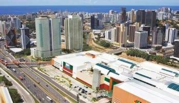 Localização CEO Salvador Shopping