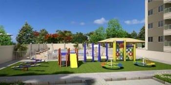 Parque Infantil do Torres do Atlântico, localizado no bairro de Vilas do Atlântico, em Lauro de Freitas.