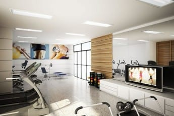 Perspectiva Academia Essencial Flex House, no bairro da Pituba, em Salvador