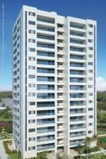 Perspectiva da fachada dos apartamentos 140m² e 142m² do Hemisphere 360