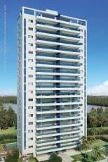 Perspectiva da fachada dos apartamentos de 165m² do Hemisphere 360