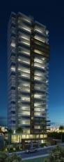 Perspectiva da fachada - noite do empreendimento