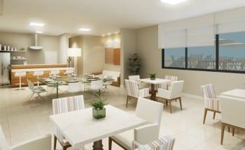 Perspectiva Espaço Gourmet do Barra Exclusive, localizado no bairro da Barra, em Salvador.