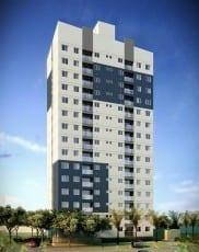 Perspectiva Fachada do Flex Piatã- 58m², localizado no bairro de Piatã, em Salvador.
