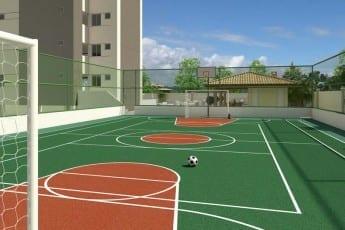 Quadra Poliesportiva do Torres do Atlântico, localizado no bairro de Vilas do Atlântico, em Lauro de Freitas.