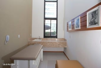 Sala de Massagem do Edifício Residencial Amazon - Aquarius, localizado no bairro da Pituba, em Salvador.