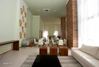 Salão de Festa do Residencial Amazon - Aquarius, localizado no bairro da Pituba, em Salvador.