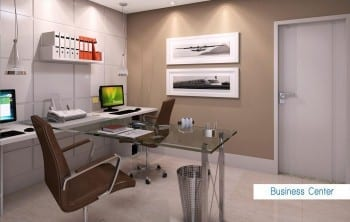 Perspectiva Business Center do empreendimento