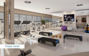 Perspectiva Fitness Center do Wave Exclusive.