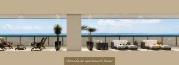 Apartamento Linear - Varanda do empreendimento.