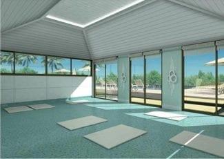 Perspectiva do Espaço Zen - Yoga e Meditação