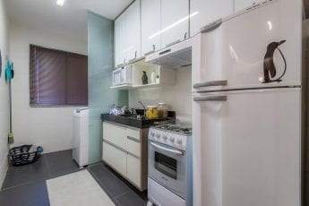 Foto do apartamento decorado - cozinha