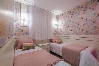 Foto do apartamento decorado - Quarto Solteiro