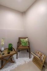 Foto do apartamento decorado - Varanda