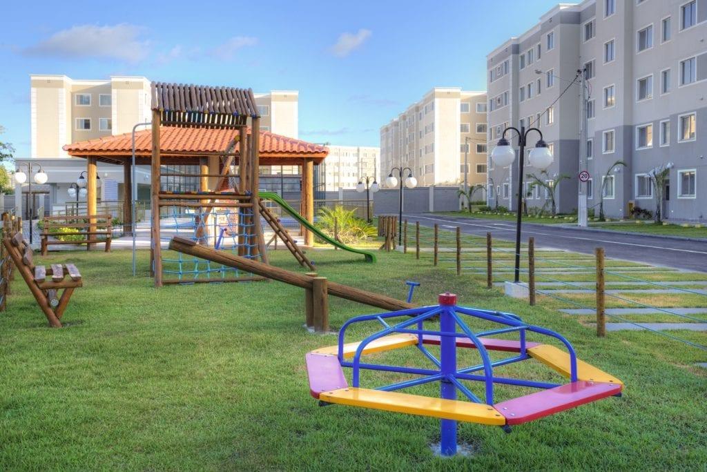 Foto do Playground do Parque Sun Palace